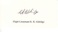 ALDRIDGE K. - Titled Signature