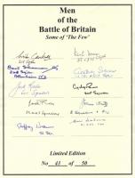 MEN OF THE BATTLE OF BRITAIN - No: 12