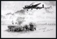 RETURN OF THE PHANTOM - Original Pencil Drawing