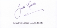 RIDDLE, C.J.H. - Titled Signature