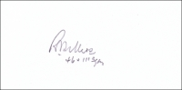 SELLERS, R.F. - Pencil Signature