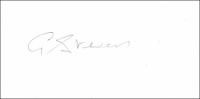 STEVENS, G. - Pencil Signature