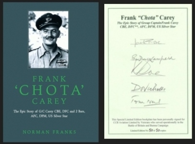 "FRANK ""CHOTA"" CAREY - Special Limited 1st Edition"