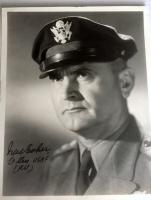 1940's GENERAL IRA EAKER PHOTO - Signed