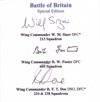 BATTLE OF BRITAIN - Special Edition Bookplate
