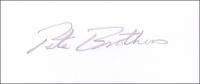 BROTHERS, P. M. - Pencil Signature