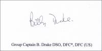 DRAKE, B - Titled Signature