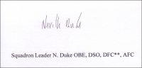 DUKE, N - Titled Signature