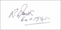 JONES, R.L. - Pencil Signature