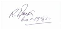 JONES, R.L. - Pencil Signature