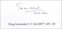 NEIL, T.F. - Titled Signature