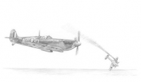 SPITFIRE ON THE PROWL - signed by Bob Doe