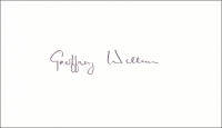 WELLUM, G.H.A. - Pencil Signature