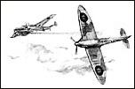 609 (WR) SQUADRON SPITFIRE