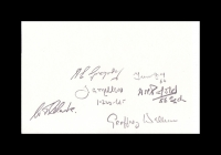 02- BATTLE OF BRITAIN - Multi-signed card