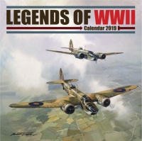 2019 CALENDAR - Legends of WWII