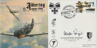 ADLERTAG BATTLE OF BRITAIN - Signed Krupinski