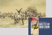 BATTLE OF BRITAIN COMMEMORATIVE COLLECTION - Book + Print