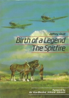 BIRTH OF A LEGEND THE SPITFIRE - Rare 24 signature 1st edition
