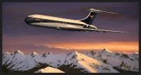 HEADING HOME - BOAC VC10 - Ltd editions and Original Canvas painting