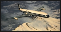 HEADING HOME - BOAC COMET - Ltd editions and Original Canvas painting