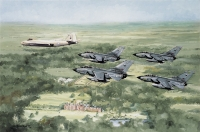 MARHAM WING OVER SANDRINGHAM - signed editions