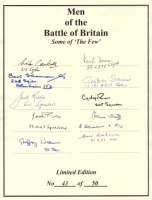 MEN OF THE BATTLE OF BRITAIN - No: 12
