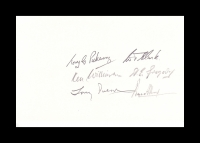 01- BATTLE OF BRITAIN - Multi-signed card