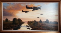 1940 - SUMMER OF LEGENDS (Original Oil Painting)