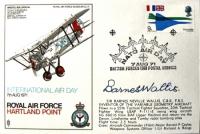 1971 COVER - Rare Signed Sir Barnes Wallis