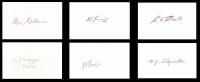 6 x BATTLE OF BRITAIN Signature Set