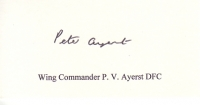 AYERST P. - Titled Signature