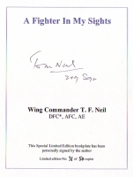 A FIGHTER IN MY SIGHTS - bookplate