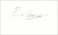 BARWELL, E. - Pencil Signature