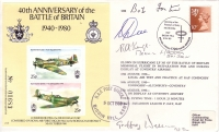 BATTLE OF BRITAIN 40TH ANNIVERSARY - Multi-signed edition
