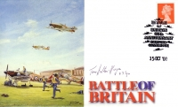 BATTLE OF BRITAIN 60TH ANNIVERSARY - Signed