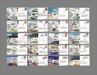 BATTLE OF BRITAIN 50th ANNIVERSARY - Special Signed Edition Set of 20