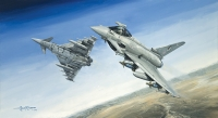 BLACK KNIGHTS TYPHOONS OVER CHINA LAKE - various signed editions