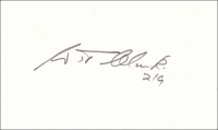 CLARK, W. T. - Pencil Signature - various options