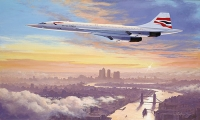 CONCORDE - EARLY MORNING ARRIVAL