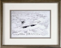 CONCORDE - SECOND TO NONE - Original Drawing