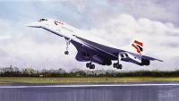 CONCORDE - THE FINAL TOUCHDOWN (Remarque)