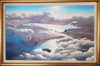 CONCORDE - THE GOLDEN YEARS (Original Oil Painting)