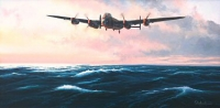 DAMBUSTERS - THE DASH FOR HOME (Original painting)