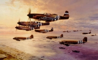 D-DAY AIRBOURNE ASSAULT  (Rare print)