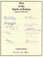 MEN OF THE BATTLE OF BRITAIN - No: 07