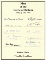 MEN OF THE BATTLE OF BRITAIN - No: 08