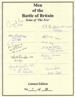 MEN OF THE BATTLE OF BRITAIN - No: 10