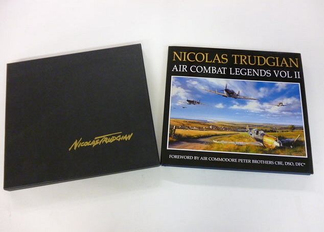Limited edition fine art book signed by veterans