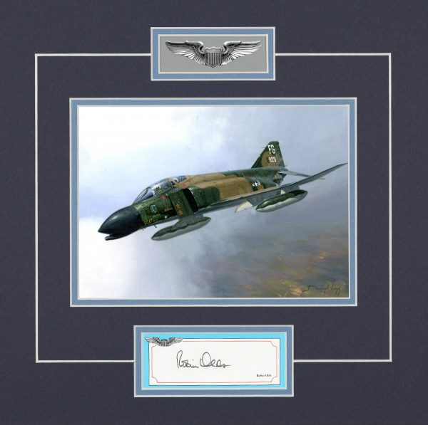 Limited edition mounted original signature display